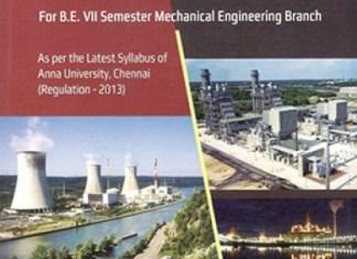ME6701 Power Plant Engineering