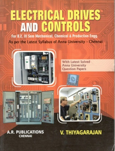 PDF] EE6351 Electrical Drives and Controls Lecture Notes, Books