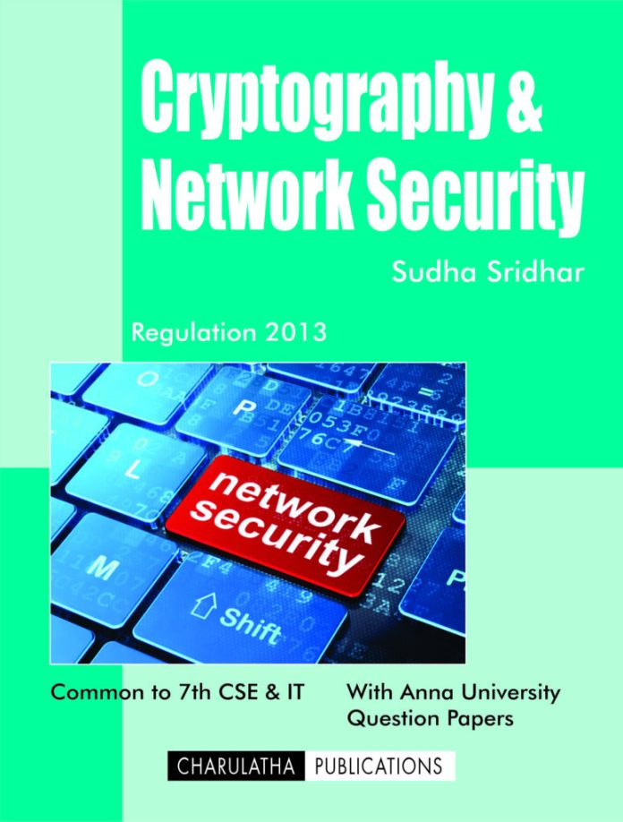 PDF] CS6701 Cryptography and Network Security Lecture Notes, Books