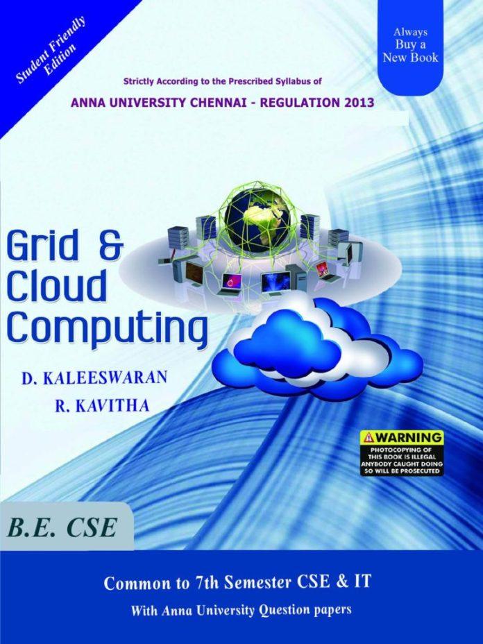 CS6703 Grid and Cloud Computing