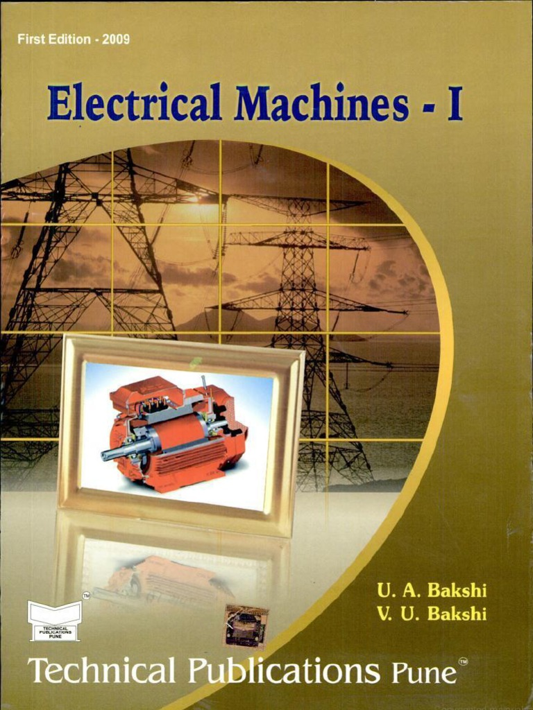 Books special electrical pdf machines