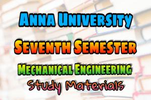 PDF] Mechanical Engineering Seventh Semester Subjects