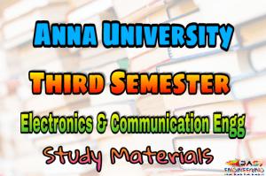 PDF] Electronics and Communication Engineering Third