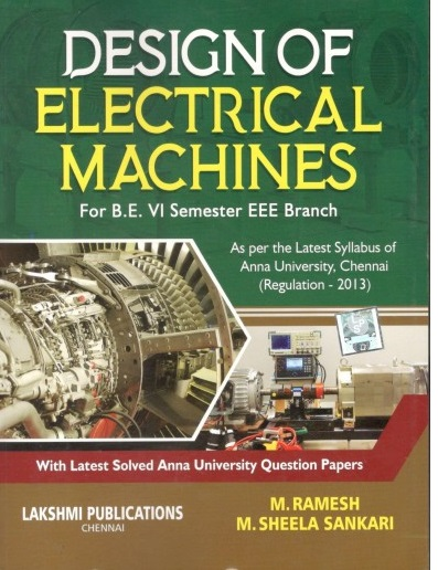 PDF] EE6604 Design of Electrical Machines Lecture Notes