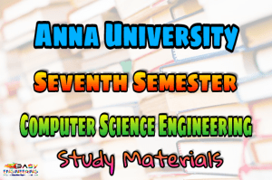 PDF] Computer Science and Engineering Seventh Semester