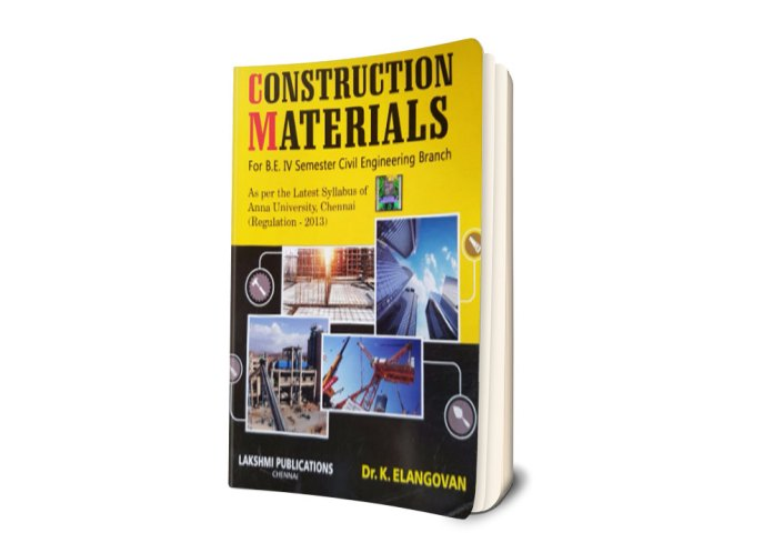 PDF] CE6401 Construction Materials Lecture Notes, Books
