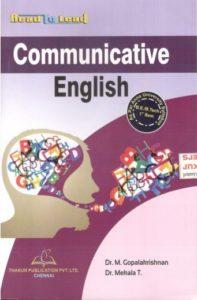 HS8151 Communicative English