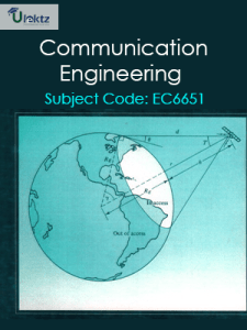 PDF] EC8395 Communication Engineering Lecture Notes, Books