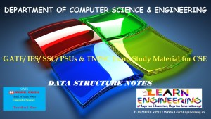 [PDF] GATE Exam Study Material for CSE | IES/ SSC/ PSUs & TNPSC Exam Study Material for CSE | Data Structure Notes | By Made Easy Hand Written Notes Free Download