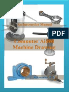 [PDF] ME8381 Computer Aided Machine Drawing Lab Manual R-2017