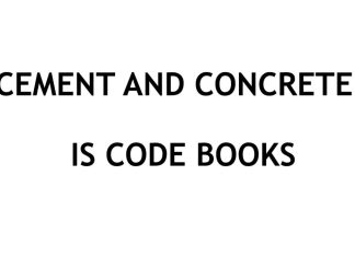Civil Engineering IS (Indian Standards) Code books collection for Cement and Concrete