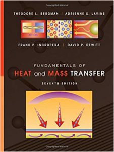 Fundamentals of Heat and Mass Transfer By Theodore L. Bergman