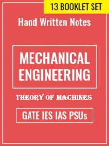 Learn Engineering Team Theory of Machines Handwritten Notes