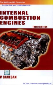 Internal Combustion Engines, Third Edition By V Ganesan