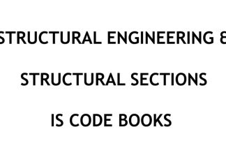 Civil Engineering IS (Indian Standards) Code books collection for Structural Engineering and Structural Sections