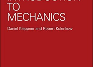 An Introduction to Mechanics By Daniel Kleppner