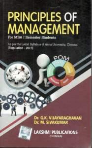 MG8591 Principles of Management