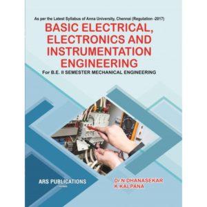 BE8253 Basic Electrical, Electronics and Instrumentation Engineering