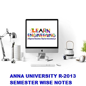 CSE R2013 Notes