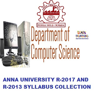 Anna University UG / PG Syllabus