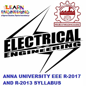 Anna University EEE UG / PG Syllabus