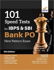 101 Speed Tests for IBPS & SBI Bank PO By Disha Experts