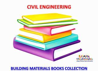 Building Materials Books Collection
