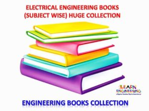 Electrical Engineering Books Huge Collection (Subject wise)