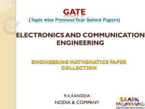 R K Kanodia Engineering Mathematics Notes