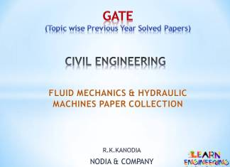 R K Kanodia Fluid Mechanics and Hydraulic Machines