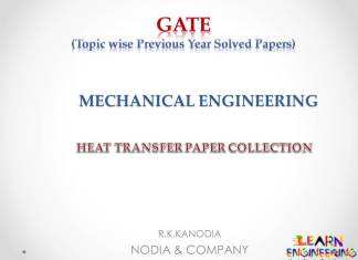 R K Kanodia Heat Transfer Notes