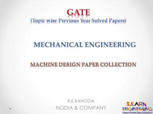 R K Kanodia Machine Design Notes