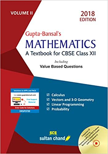 Mathematics By V.K. Gupta and A.K. Bansal