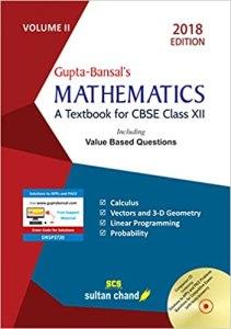 Mathematics By V.K. Gupta and A.K. Bansal
