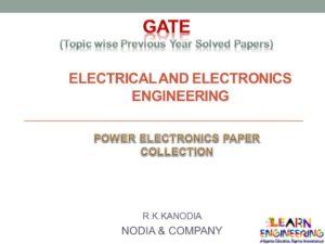 R K Kanodia Power Electronics Notes