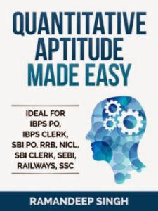 Quantitative Book Made Easy By Ramandeep Singh