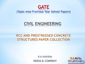 R K Kanodia RCC and Prestressed Concrete Structures Notes
