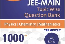 Resonance Rank Booster JEE Main Chemistry