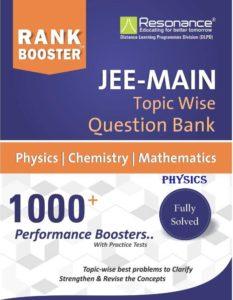 Resonance Rank Booster JEE Main Physics