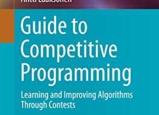 Guide to Competitive Programming By Antti Laaksonen