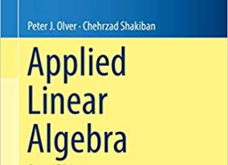 Applied Linear Algebra By Peter J. Olver