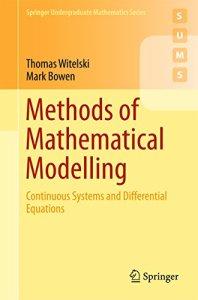Methods of Mathematical Modelling By Thomas Witelski