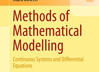 Methods of Mathematical Modelling By Thomas Witelski