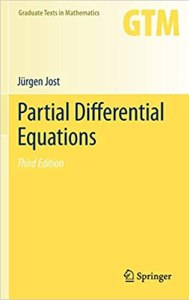 Partial Differential Equations By Jurgen Jost