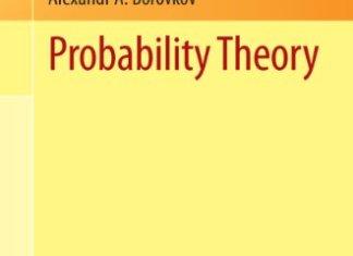 Probability Theory By Alexandr A. Borovkov