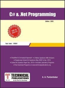 CS8073 C# and .Net Programming