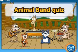 Animal band quiz