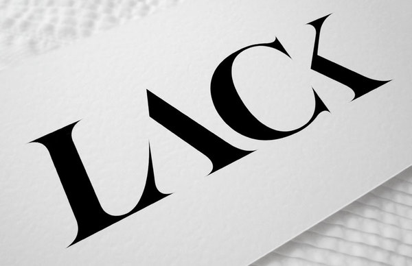 Lacka-lacka-lack: Lack of vs. lack in