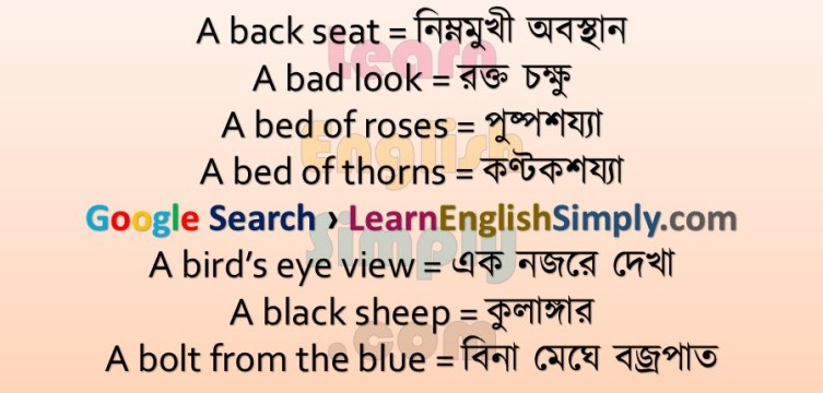 Idioms Phrases Part 01 Learn English Simply