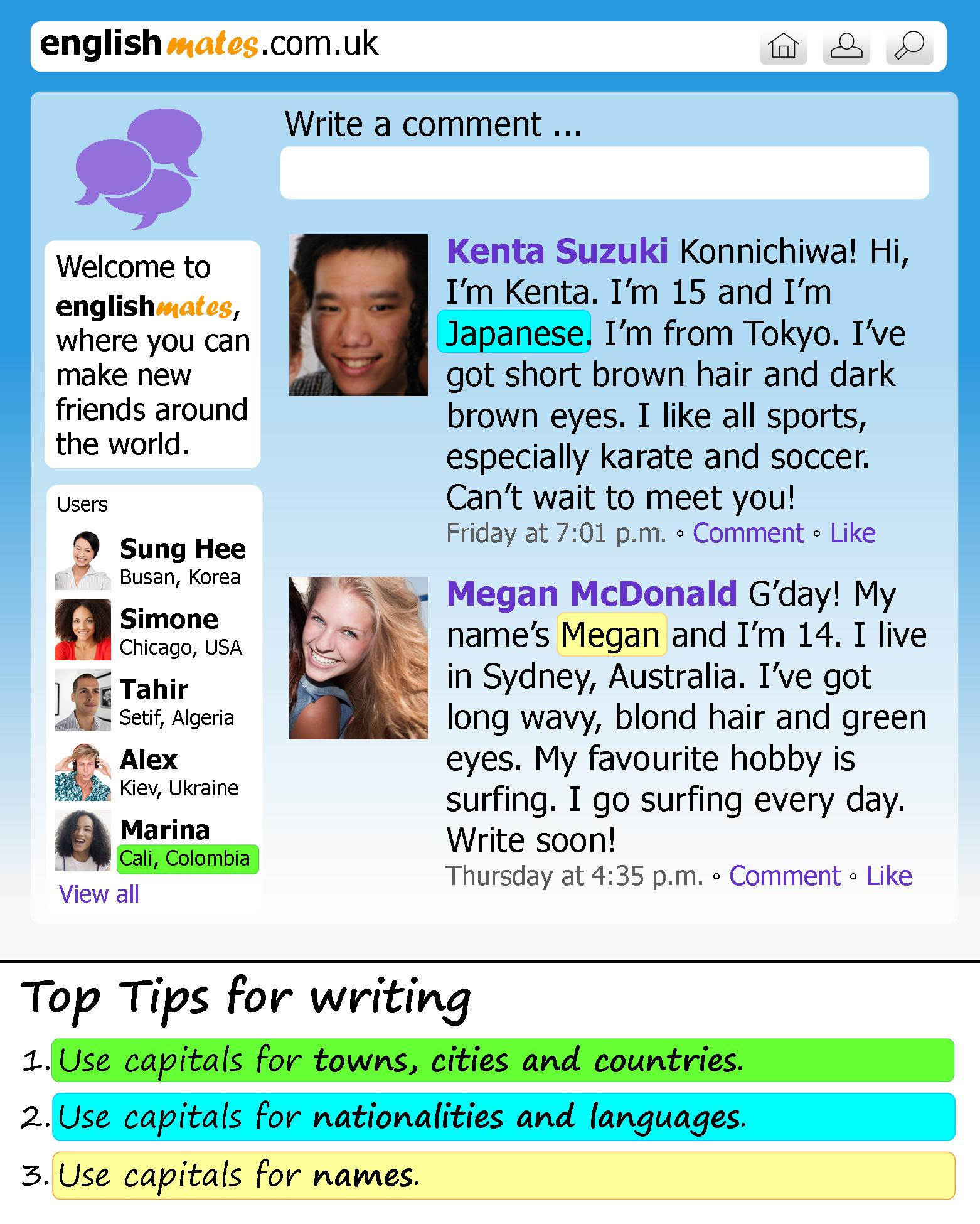 A Social Network Site Learnenglish Teens